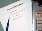 First Visit Checklist